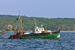 "Fishing Trawler ""Alicia"" in Narragansett Bay near Jamestown and North Kingstown, RI"