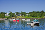 Lobster Boats in Rockport Harbor, Rockport, ME