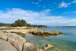 Rocky Shorelines of Coot Islands at Low Tide, Deer Island Thorofare, Stonington, ME