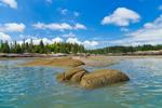 Exposed Rocks at Low Tide on Davids Island, Seal Bay, Vinalhaven, ME