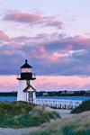 Sunset at Brant Point Light, Nantucket, MA