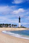 Hillsboro Lighthouse (Hillsboro Inlet Light, Hillsboro Light),  Pompano Beach, FL