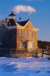 Saugerties Lighthouse in Late Evening Light, Hudson River, Saugerties, NY