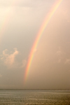 Rainbow after Thunderstorm on Sakonnet River near Third Beach, Middletown, RI