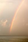 Rainbow after Thunderstorm on Sakonnet River near Third Beach, Middletown, RI