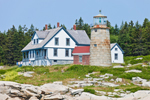 Whitehead Light at Mussel Ridge Channel,  Whitehead Island, St George, ME