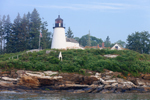 Burnt Island Light, Burnt Island, Boothbay Harbor, Southport, ME