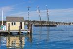 Tisbury Wharf and Schooner