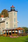 Big Sodus Light (Old Sodus Point Lighthouse), Sodus Bay, Lake Ontario, Great Lakes Seaway Trail, Sodus, NY