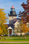 Thirty Mile Point Lighthouse, Golden Hill State Park, Great Lakes Seaway Trail, Lake Ontario, Barker, Somerset, NY