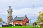 Old Fairport Main Lighthouse (Fairport Harbor Lighthouse), Fairport Harbor Lakefront Park, Lake Erie, Fairport, OH