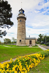 Erie Land Lighthouse (Old Presque Isle Light), Built 1867, Great Lakes Seaway Trail, Lake Erie, Erie, PA