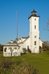 Stony Point Lighthouse (Built 1838), Lake Ontario, Great Lakes,, Great Lakes Seaway Trail, Jefferson County, Henderson, NY