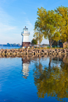Oak Orchard Lighthouse, Oak Orchard State Marine Park, Lake Ontario, Great Lakes Seaway Trail, Point Breeze, Carlton, NY