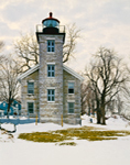Big Sodus Light (Old Sodus Point Lighthouse), Sodus Bay, Lake Ontario, Great Lakes Seaway Trail, Sodus, NY