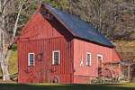 Red Barn with White Trim, South Newfane, VT