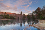 Small Pond near Manchaug Pond in Early Morning Light, Douglas and Sutton, MA