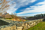 Country Home with Stone Walls and Fields, Sutton, MA
