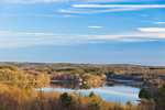 Manchaug Pond, View from Waters Road, Sutton, MA
