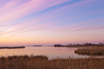 Salt Marshes and Chesapeake Bay at Sunset, Knapp's Narrows, Talbot County, Tilghman, MD