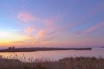 Salt Marshes and Chesapeake Bay at Sunset, Knapp's Narrows, Talbot County, Tilghman, MD
