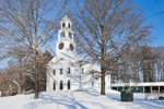 First Parish of Sudbury Unitarian Universalist Church in Winter, Sudbury, MA
