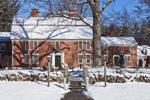 Longfellow's Wayside Inn in Winter, Sudbury, MA