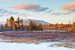 View of Mt Monadnock from Scott Brook in Late Evening Light, Fitzwilliam, NH