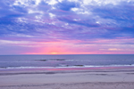 Sunrise over Beach at Assateague Island National Seashore, Assateague Island, MD
