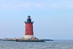 Delaware Breakwater Lighthouse, Cape Henlopen State Park, Lewes, DE
