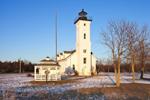 Stony Point Lighthouse (Built 1838), Lake Ontario, Great Lakes, Great Lakes Seaway Trail, Jefferson County, Henderson, NY