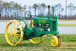 Antique John Deere Tractor, General Purpose (GP) Model, Morris Farms, Barco, NC