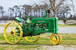 Antique John Deere Tractor, Model A, Morris Farms, Barco, NC