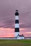 Bodie Island Lighthouse at Sunrise, Cape Hatteras National Seashore, Outer Banks, Bodie Island, NC