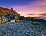 Early Morning Light at West Quoddy Head Lighthouse, Quoddy Head State Park, Lubec, ME