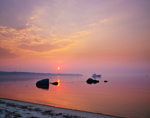 Sunrise at Tarpaulin Cove, Naushon Island, Elizabeth Islands, Gosnold, MA