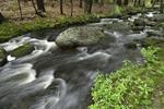Brush Brook in Spring Freshet near Edward MacDowell Lake, Dublin, NH