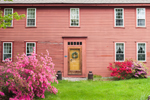 Old Colonial-style Home and Flowering Azaleas, Griswold, CT
