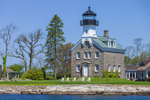 Morgan Point Light, Fishers Island Sound, Noank, Groton, CT