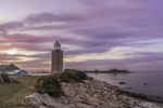 Avery Point Lighthouse at Sunrise, University of Connecticut at Avery Point, Groton, CT