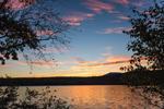 Sunset at Chocorua Lake, Lakes Region, Tamworth, NH