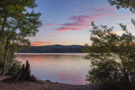 Sunset at Chocorua Lake, Lakes Region, Tamworth, NH