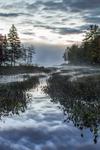 Sportsman Pond with Ground Fog at Predawn, Fitzwilliam, NH