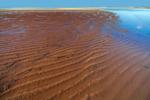 Sandbars off First Encounter Beach, Cape Cod Bay, Cape Cod, Eastham, MA