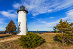 East Chop Lighthouse, Telegraph Hill, Martha's Vineyard, Oak Bluffs, MA
