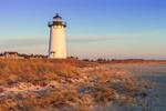 Edgartown Lighthouse in Early Morning Light, Martha's Vineyard, Edgartown, MA
