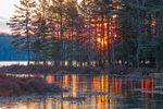 Sunrise at Sportsman Pond, Fitzwilliam, NH