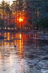 Sunrise at Sportsman Pond, Fitzwilliam, NH