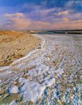 Tide Line in Ice at Mill Creek, Cape Cod, Sandwich, MA