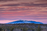 Mount Monadnock at Sunset, View from Winchendon, MA